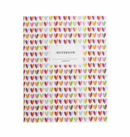 Penny Paper Co. Mod Hearts Notebook