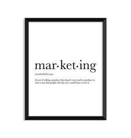 Footnotes Studio Art Print - Marketing