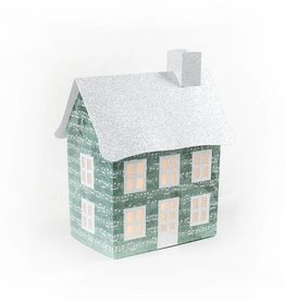Dimensional Paperworks Vintage House w/ Music Notes