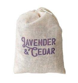 Idea Chic Lavender & Cedar Sachet, 3pk