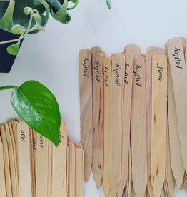 Idea Chic Herb Garden Markers