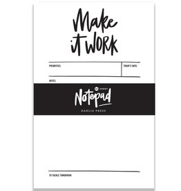 Dahlia Press Make It Work Notepad