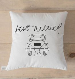 PCB Home Just Married Pillow
