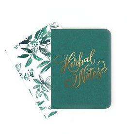 Antiquaria Bermuda & Coco Floral Notebook