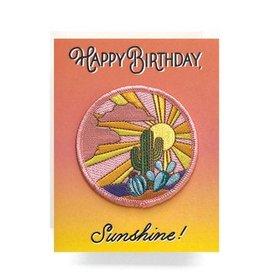 Antiquaria Cactus Sunset Birthday