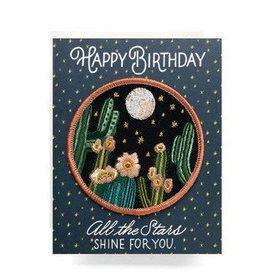 Antiquaria Night Cactus Birthday