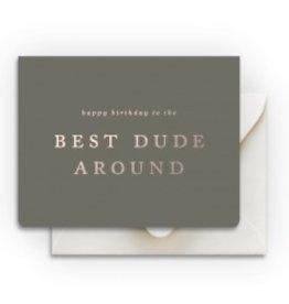 Smitten on Paper Best Dude Birthday