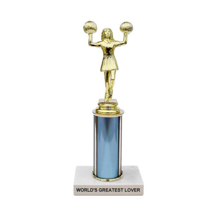 Frog and Toad World's Greatest Lover Trophy