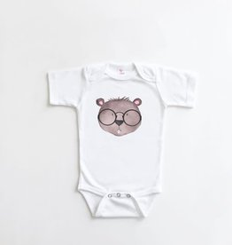 Little Fruit Tree Beaver Baby Onesie, 0-3 mo.