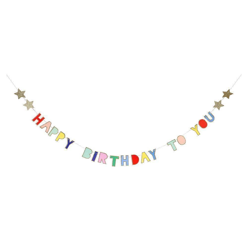 Meri Meri Birthday Mini Garland