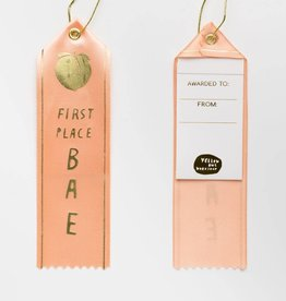 Yellow Owl Ribbon - First Place Bae