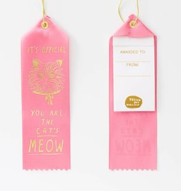 Yellow Owl Ribbon - Official Cat's Meow
