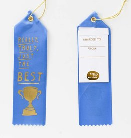 Yellow Owl Ribbon - Truly the Best