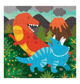 Petit Collage Petit Puzzle - Dinosaurs