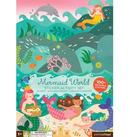Petit Collage Mermaid World Sticker Set