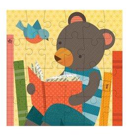 Petit Collage Petit Puzzle - Reading Bear