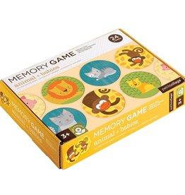 Petit Collage Animal & Babies Memory Game