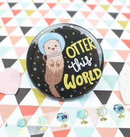 Turtle's soup Otter Pin