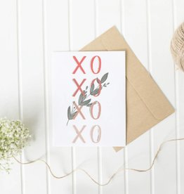 AP Letters XOXO Card