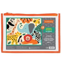 Hachette Book Group Zoo Animal Puzzle Pouch
