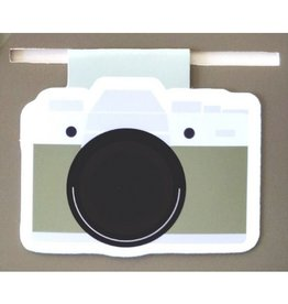 Crafted Van Camera Jumbo Bookmark
