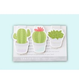 Crafted Van Cactus Mini Bookmarks