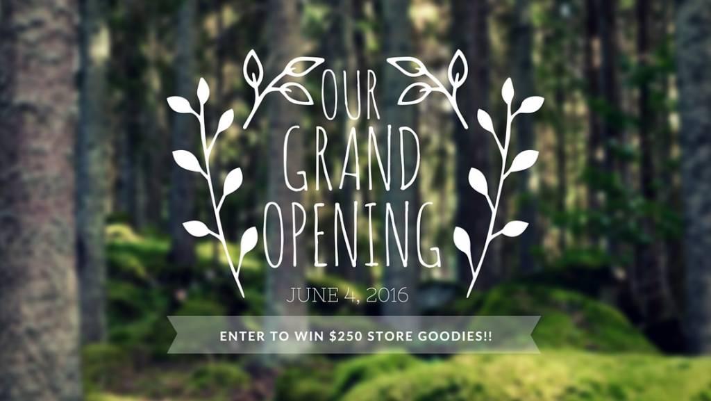 Grand Opening !!