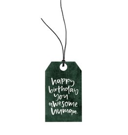Emma Kate Co. Awesome Human Gift Tag