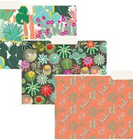 Waste Not Paper Cactus File Folders