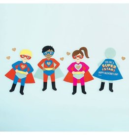 Waste Not Paper Superhero Card Kit