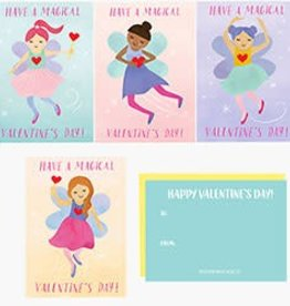 Waste Not Paper Fairies Valentines