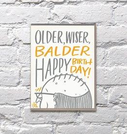 Bench Pressed Older, Wiser, Balder