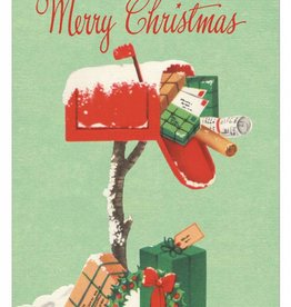 Cavallini Papers Christmas Mailbox Card