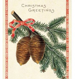 Cavallini Papers Christmas Pine Card