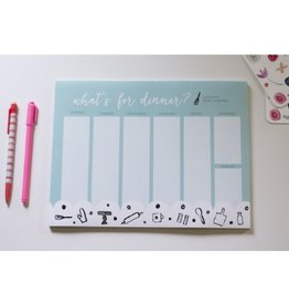 Doe A Deer What's For Dinner Notepad