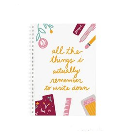 Doe A Deer All The Things Notebook