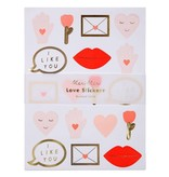 Meri Meri Valentine Sticker Sheets