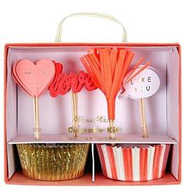 Meri Meri Valentine Cupcake Kit