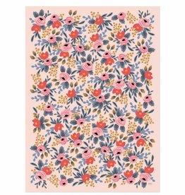 Rifle Paper Blushing Rosa Wrap Sheet