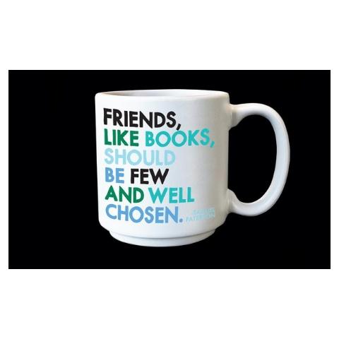 Quotable Friends Like Books Espresso Mug