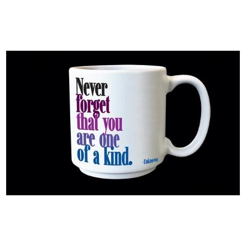 Quotable One of a Kind Espresso Mug