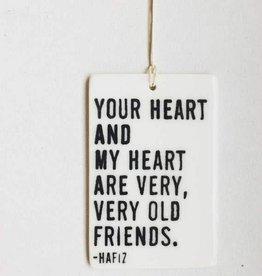 MB Art Studios Your Heart Tag