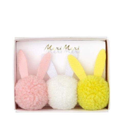 Meri Meri Bunny Pom Pom Hair Bands