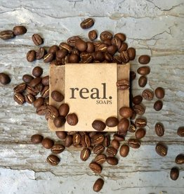 Real Mint Mocha Coffee Soap