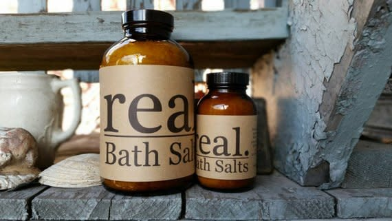 Real Lavender Soak, 16 oz