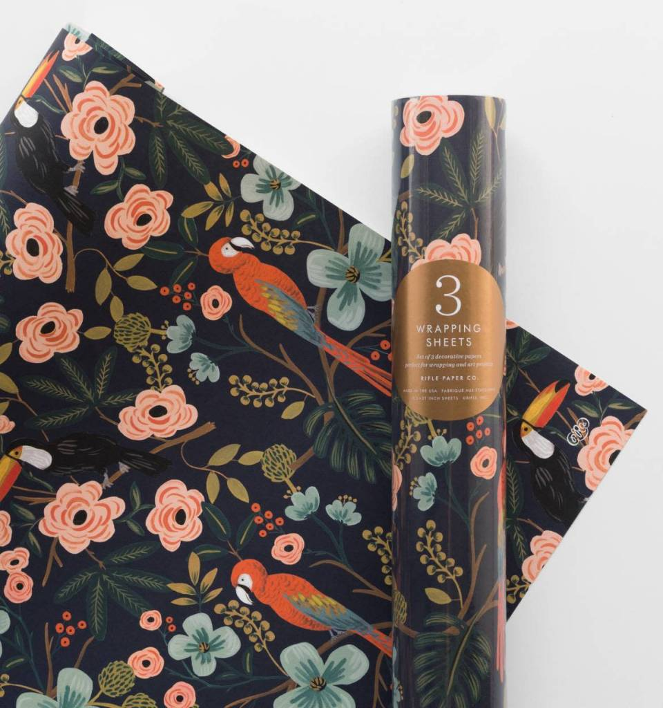 Rifle Paper Paradise Gardens Wrap Roll
