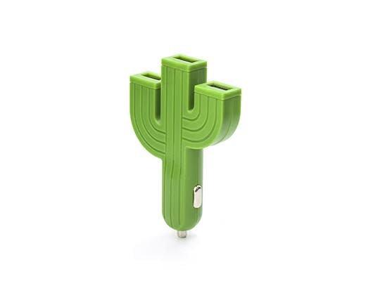 Kikkerland Cactus Car Charger