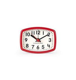 Kikkerland Magnetic Clock, Red