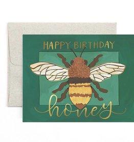1Canoe2 Birthday Honey Card