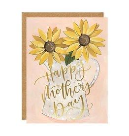 1Canoe2 Mother's Day Sunflower Card